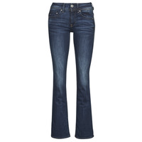 tekstylia Damskie Jeansy bootcut G-Star Raw MIDGE SADDLE MID BOOTLEG STRETCH / DENIM / DK