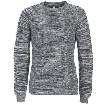tekstylia Męskie Swetry G-Star Raw SUZAKI R KNIT MARINE / Chiné