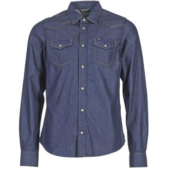 tekstylia Męskie Koszule z długim rękawem Diesel NEW SONORA Niebieski