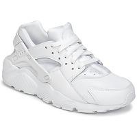 Buty Chłopiec Trampki niskie Nike HUARACHE RUN JUNIOR Biały