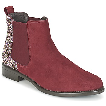 Buty Damskie Buty za kostkę Betty London FREMOUJE Bordeaux