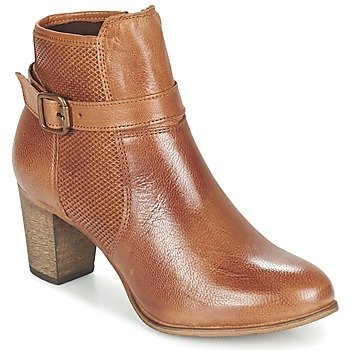 Buty Damskie Botki Betty London FAZELLE Camel