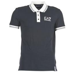 tekstylia Męskie Koszulki polo z krótkim rękawem Emporio Armani EA7 OKOLAMI MARINE