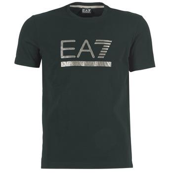 tekstylia Męskie T-shirty z krótkim rękawem Emporio Armani EA7 MAGGAROL Czarny