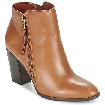 Buty Damskie Low boots Ralph Lauren FAHARI COGNAC