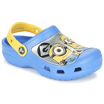Buty Dziecko Chodaki Crocs CC Minions Clog Niebieski / Żółty