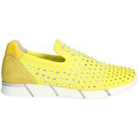 Buty Damskie Tenisówki Florens F1330 'Żółty