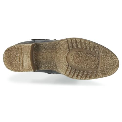 MILLIER  Kickers  buty za kostkę  damskie  czarny