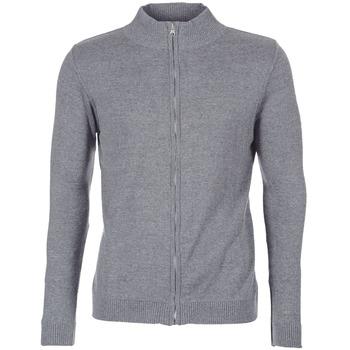 tekstylia Męskie Swetry rozpinane / Kardigany BOTD FILAPO Szary
