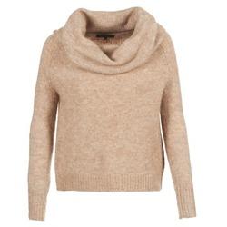 tekstylia Damskie Swetry Only BERGEN Beżowy