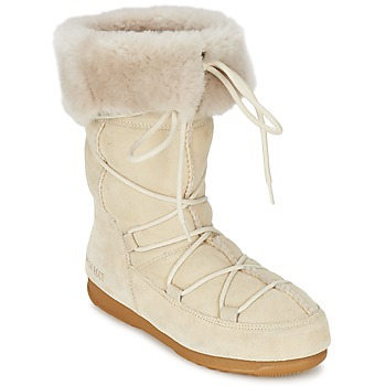 Buty Damskie Śniegowce Moon Boot MOON BOOT W.E. VAGABOND HIGH Beżowy
