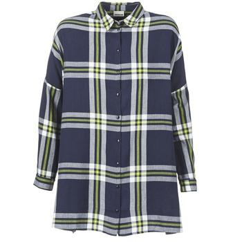 tekstylia Damskie Koszule Noisy May ERIK Marine