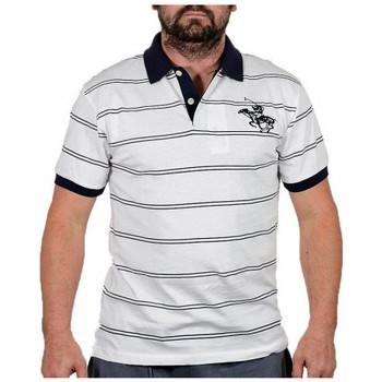 tekstylia Męskie T-shirty z krótkim rękawem Santa Barbara  Biały