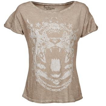 tekstylia Damskie T-shirty z krótkim rękawem Best Mountain ACCADUR TAUPE