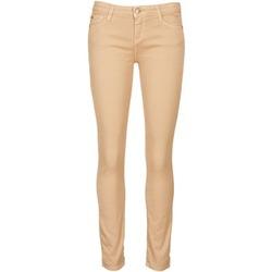 tekstylia Damskie Krótkie spodnie Acquaverde SCARLETT Creme