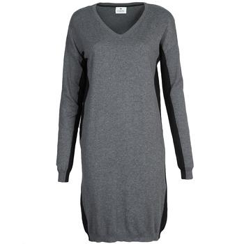tekstylia Damskie Sukienki krótkie Chipie MONNA Szary / Czarny