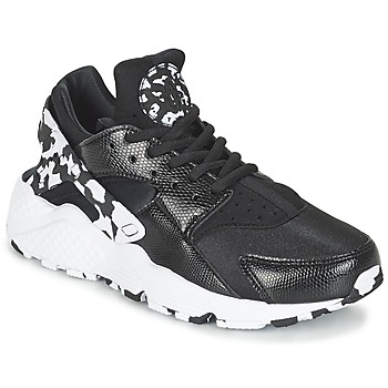 Buty Damskie Trampki niskie Nike AIR HUARACHE RUN SE W Czarny / Biały