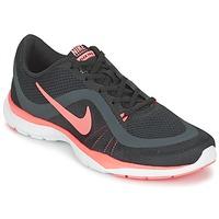 Buty Damskie Fitness / Training Nike FLEX TRAINER 6 W Czarny / Różowy