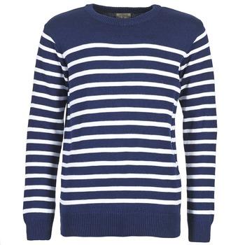 tekstylia Męskie Swetry Casual Attitude FARCIELLE MARINE / Biały
