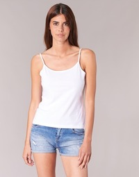 tekstylia Damskie Topy na ramiączkach / T-shirty bez rękawów BOTD FAGALOTTE Biały
