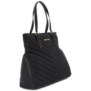 Torby shopper Armani jeans SHOPPING BLACK