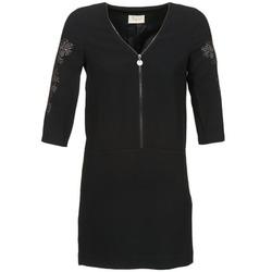 tekstylia Damskie Sukienki krótkie Stella Forest BRO001 Czarny