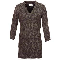tekstylia Damskie Sukienki krótkie Stella Forest BRO024 Kaki