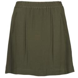 tekstylia Damskie Spódnice Stella Forest BJU021 KAKI