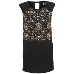 tekstylia Damskie Sukienki krótkie Stella Forest BRO040 Czarny