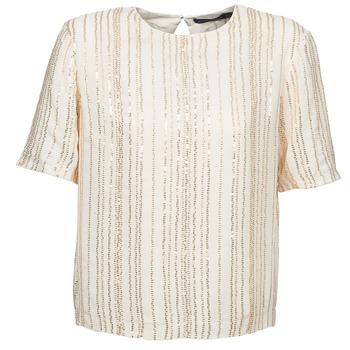 tekstylia Damskie Topy / Bluzki Antik Batik ROMINA Creme