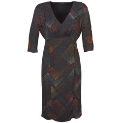 tekstylia Damskie Sukienki krótkie Antik Batik ORION Czarny