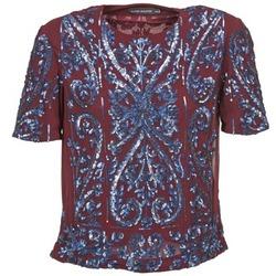 tekstylia Damskie Topy / Bluzki Antik Batik NIAOULI Bordeaux
