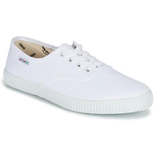 Buty Trampki niskie Victoria INGLESA LONA Biały