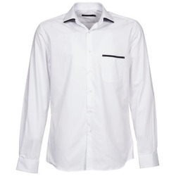tekstylia Męskie Koszule z długim rękawem Pierre Cardin ANTOINE Biały
