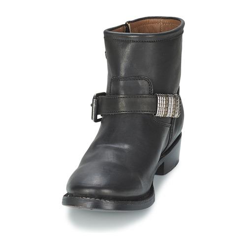 VICK  Ash  buty za kostkę  damskie  czarny