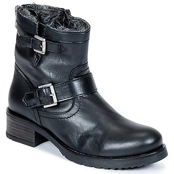 Buty Damskie Buty za kostkę Buffalo ES-30493-MEXICO Czarny