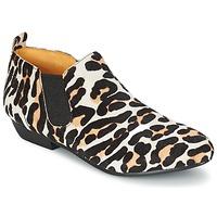 Buty Damskie Buty za kostkę Buffalo SASSY Leopard