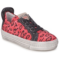 Buty Dziewczynka Trampki niskie Diesel JAKID Różowy / Leopard