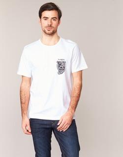 tekstylia Męskie T-shirty z krótkim rękawem Element ATTACK SS Biały