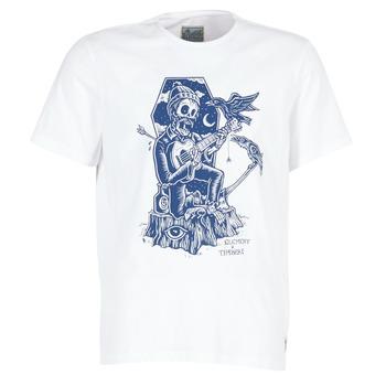 tekstylia Męskie T-shirty z krótkim rękawem Element SERENADE SS Biały