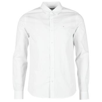 tekstylia Męskie Koszule z długim rękawem Calvin Klein Jeans WILBERT Biały