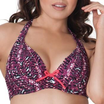 tekstylia Damskie Bikini: góry lub doły osobno Curvy Kate CS2921 CHERRY BERRY Fioletowy