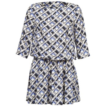 tekstylia Damskie Sukienki krótkie Manoush MOSAIQUE Szary / Czarny / PARME