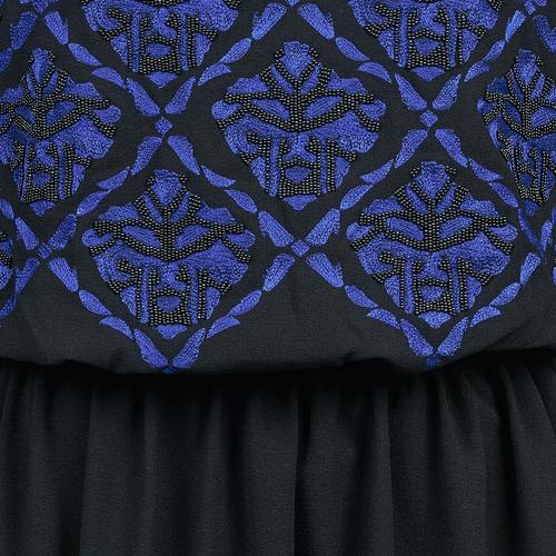 Manoush GIRANDOLINE Czarny / Niebieski - Bezpłatna dostawa