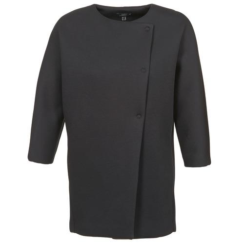 tekstylia Damskie Płaszcze Mexx 6BHTJ003 Czarny