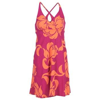 tekstylia Damskie Sukienki krótkie Patagonia AMBER Różowy / KORAL