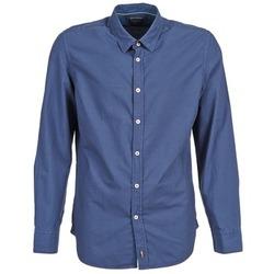 tekstylia Męskie Koszule z długim rękawem Marc O'Polo CELSUS Niebieski / MARINE / Czerwony