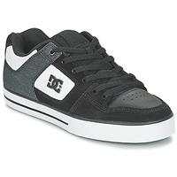 Buty Męskie Buty skate DC Shoes PURE SE M SHOE BKW Czarny / Biały