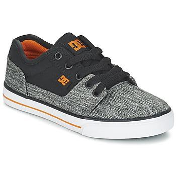 Buty Chłopiec Trampki niskie DC Shoes TONIK TX SE B SHOE BGY Czarny / Szary