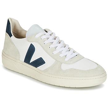 Buty Trampki niskie Veja V-10 Biały / Niebieski